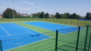 sports court line marking services