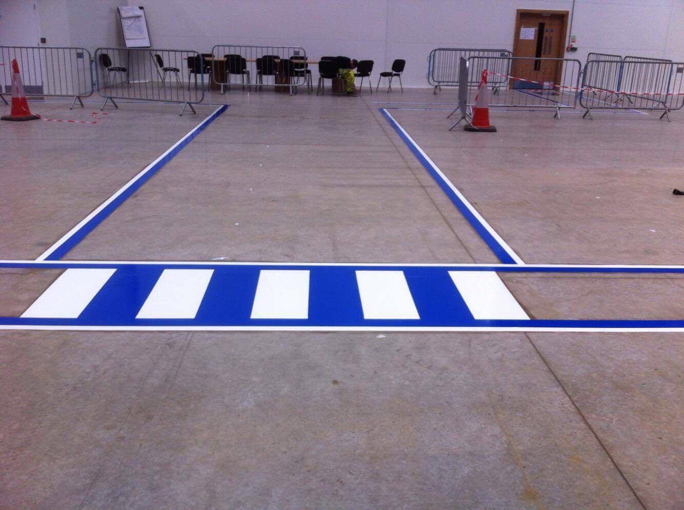 internal floor markings