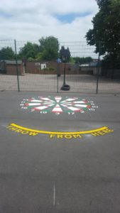 playground line marking