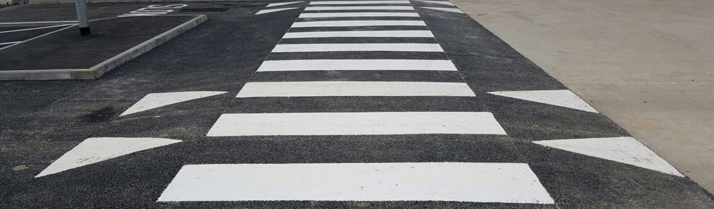 Zebra Crossing Line Marking Services