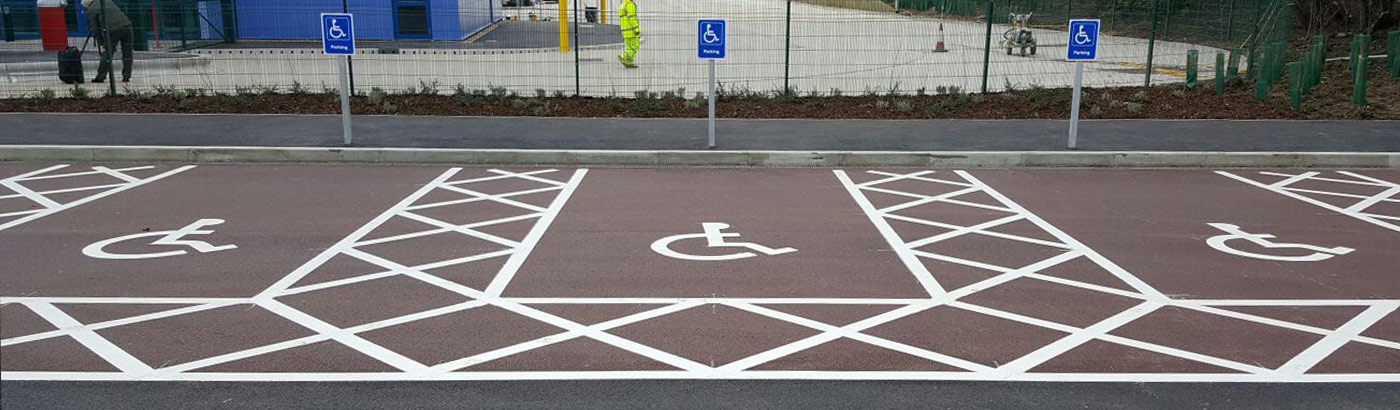 Disabled Bay Car Parking Lining Services